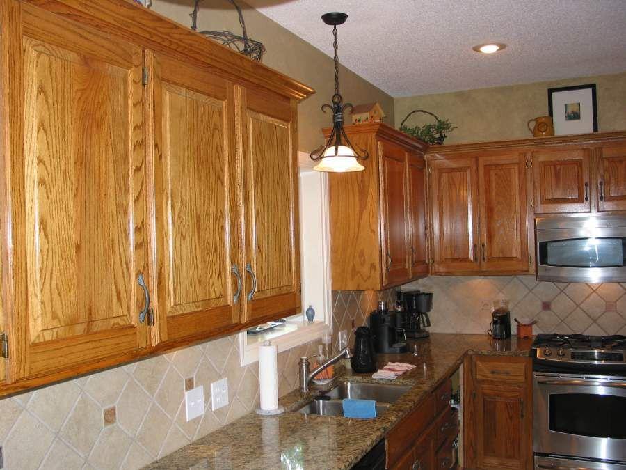 Elegant Golden Oak Cabinet Einteriors Us Wood Kitchen Cabinets Restaining Kitchen Cabinets Oak Cabinets