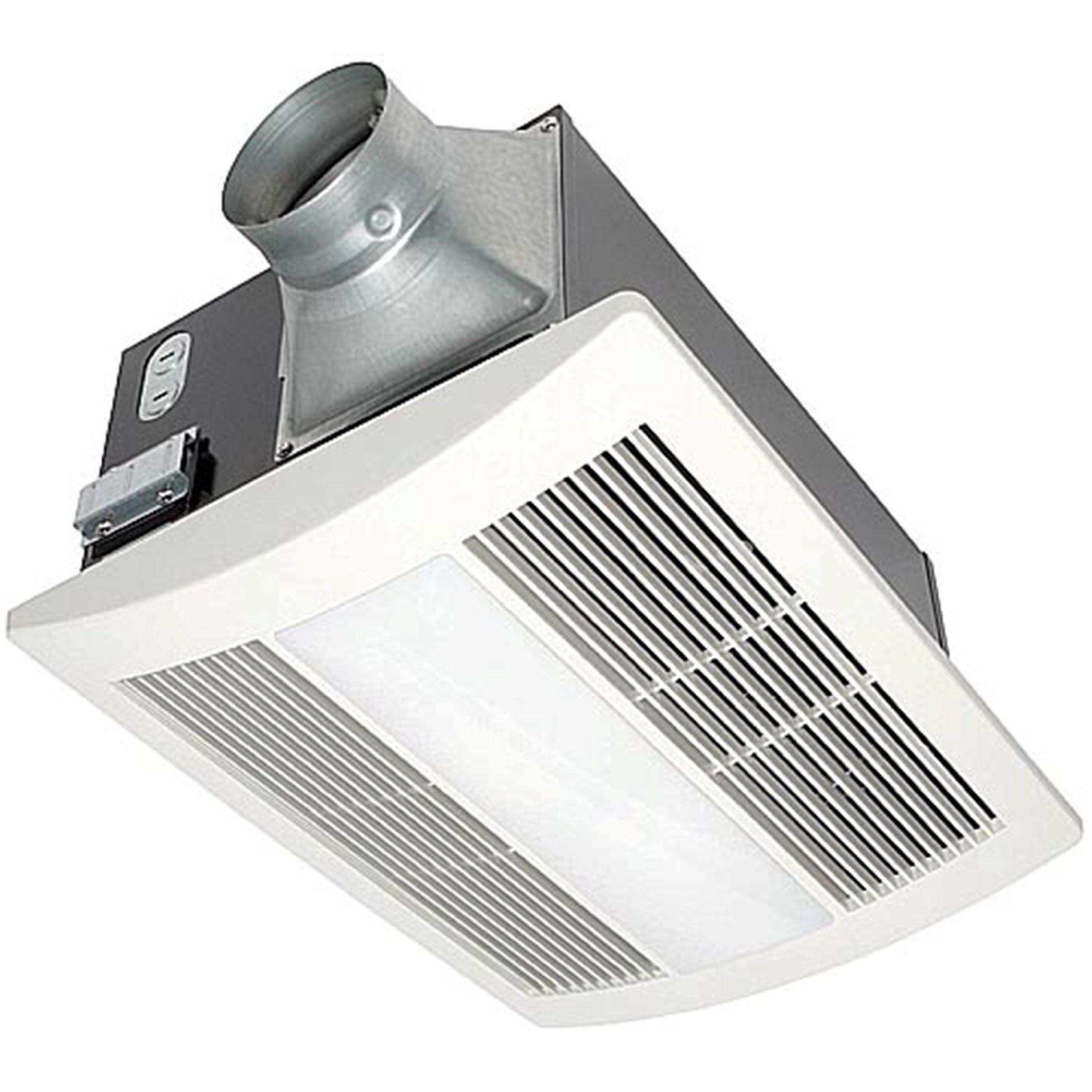 panasonic fv-11vhl2 whisperwarm 110 cfm ceiling mounted fan