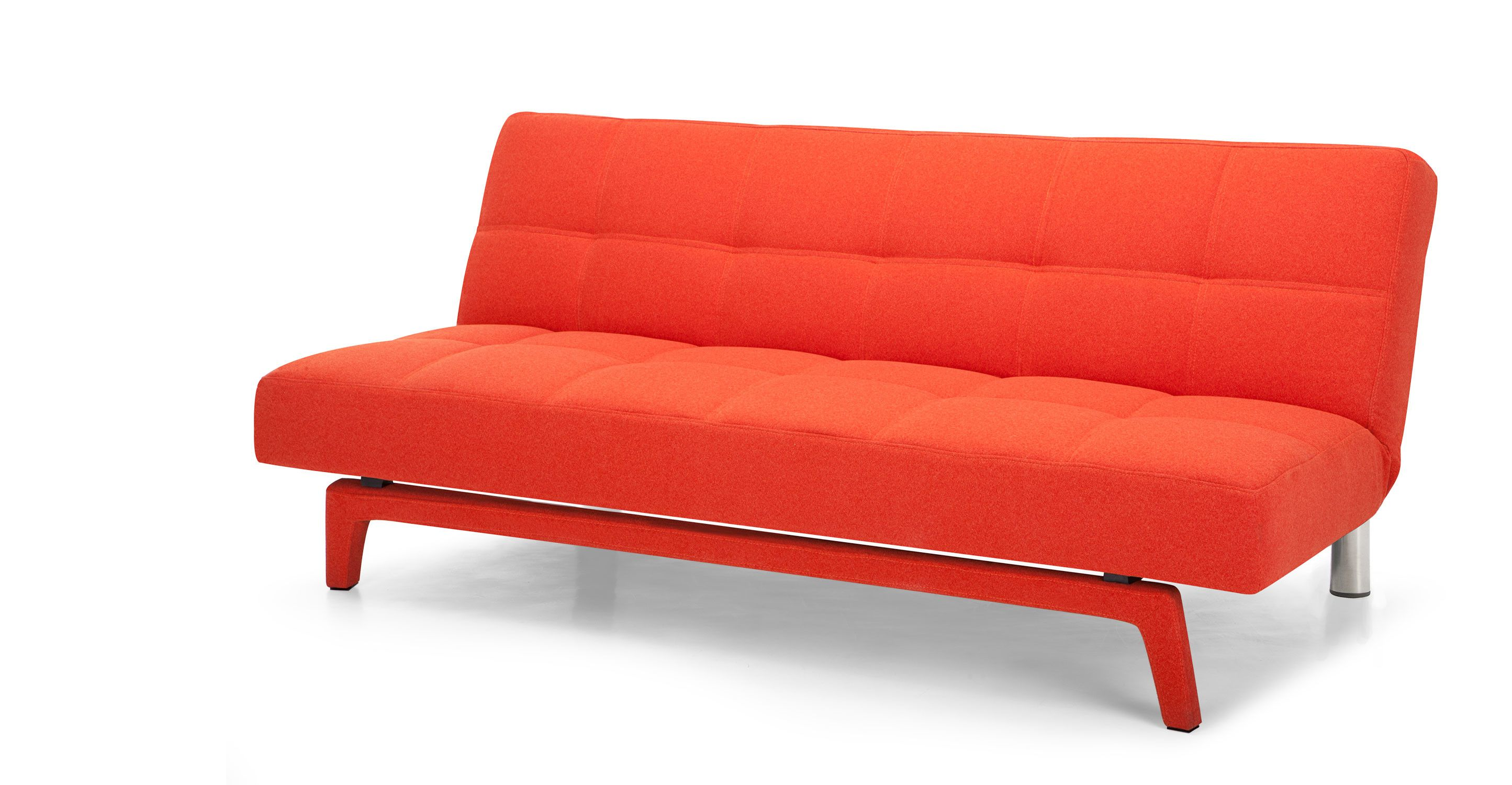 Sofa Bed Express Delivery Yoko Sofa Bed Saffron Orange From Made Express Delivery A