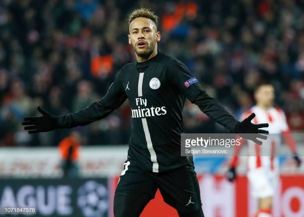 5a62ebe12f5 Red Star Belgrade v Paris Saint-Germain - UEFA Champions League Group C