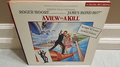 James Bond A View To A Kill 1985 Original Motion Picture