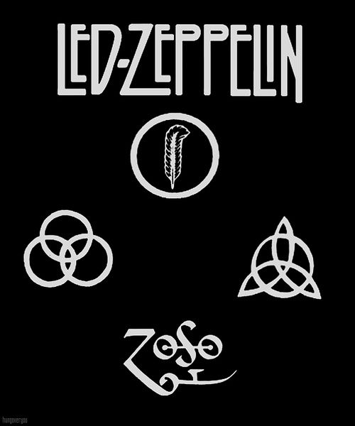 Color Of The Led Zeppelin Logo All Logos World In 2019