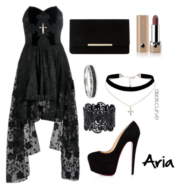 """Aria"" by emily-bohane on Polyvore featuring ASOS Curve, Dune and Marc Jacobs"