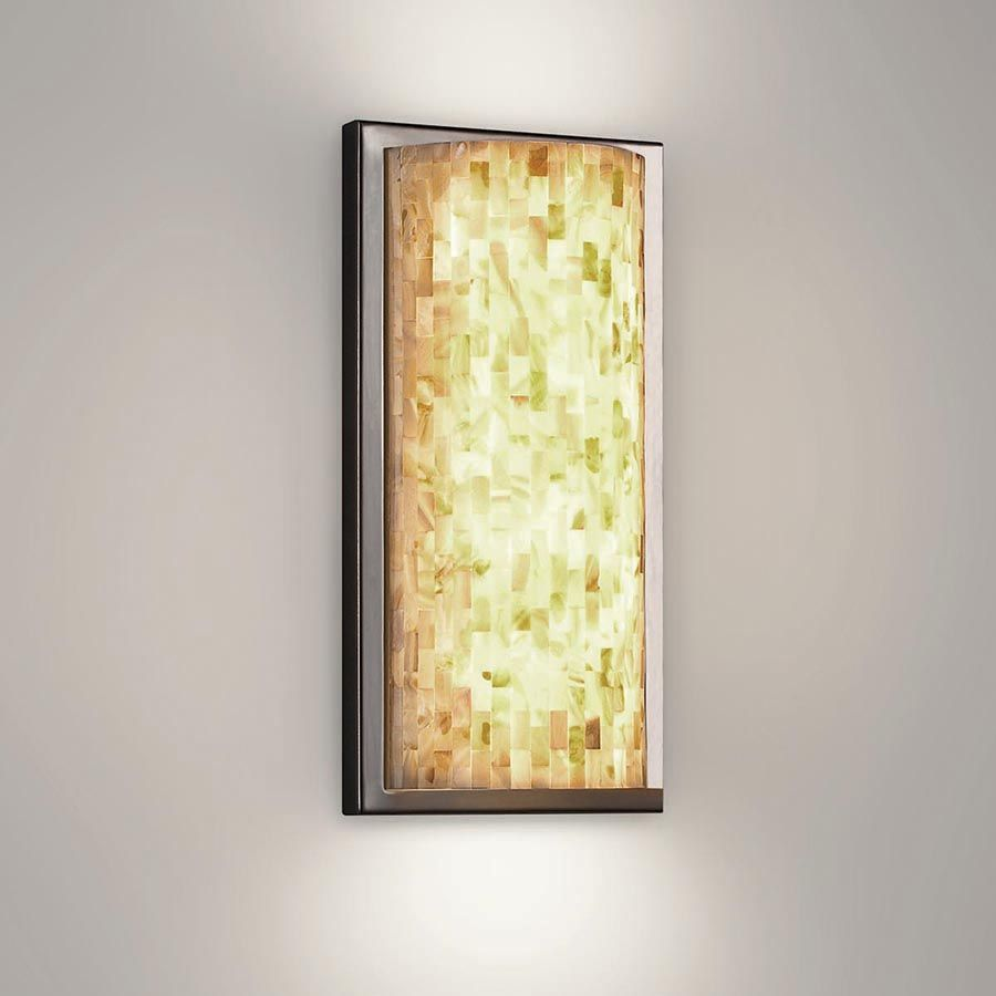 Mosaic | WAC Lighting Co., Wall sconce with attractive glass ...