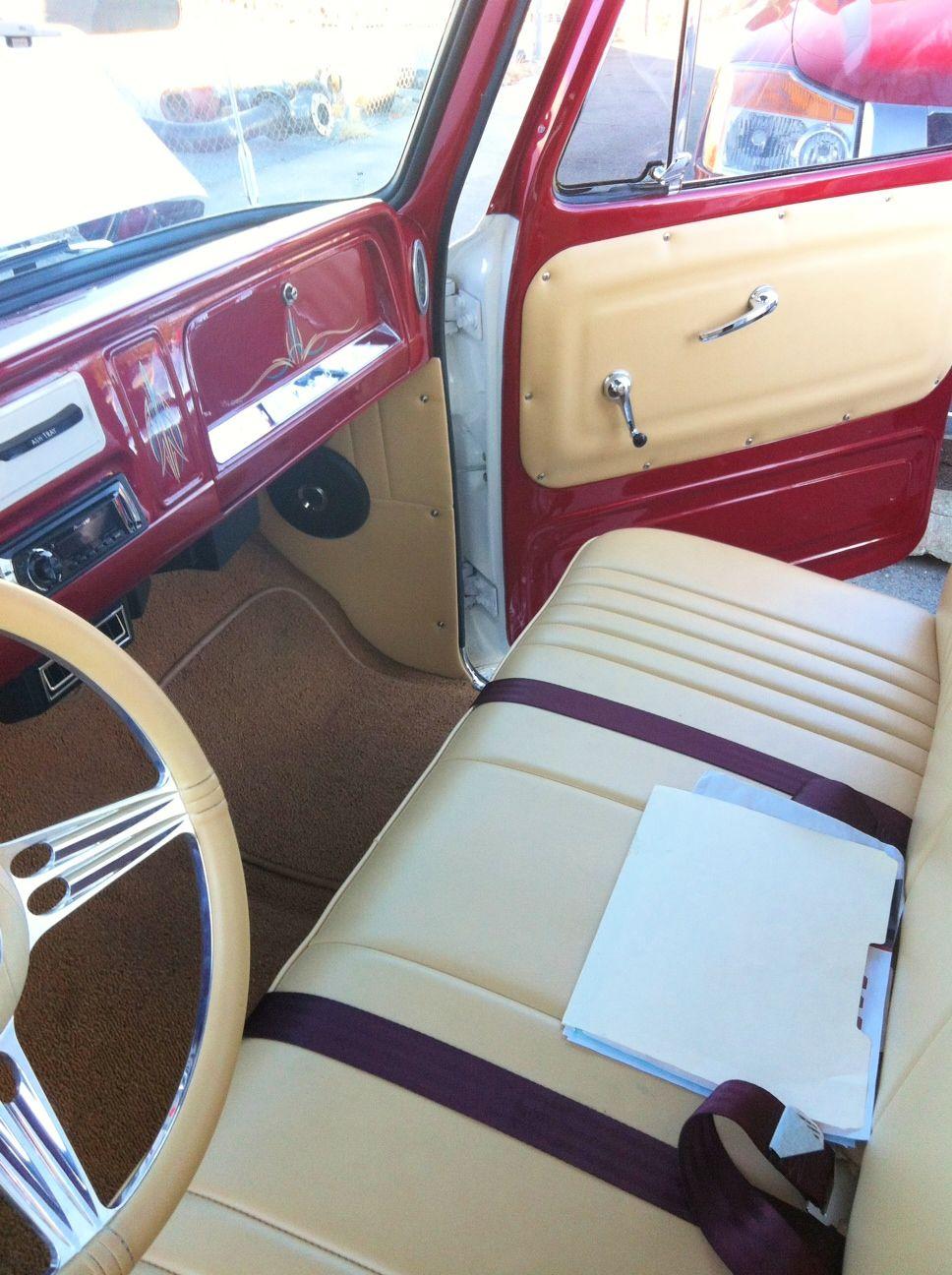 67 72 chevrolet truck vintage air install seems