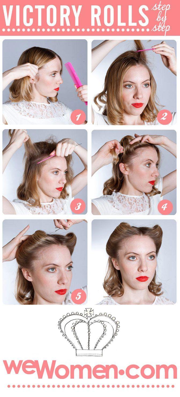 17 1950s Hairstyles Tutorial Website To Try Diy Wedding Hair Curls For Long Hair Vintage Hairstyles For Long Hair