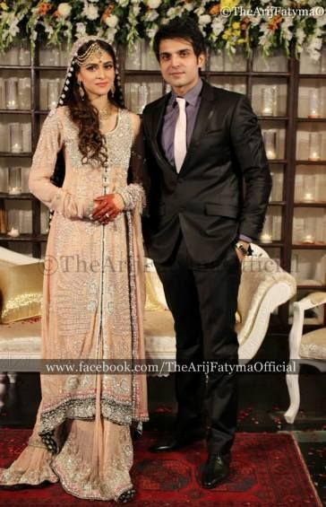 Pakistani Actress Arij Fatyma Wedding Pictures