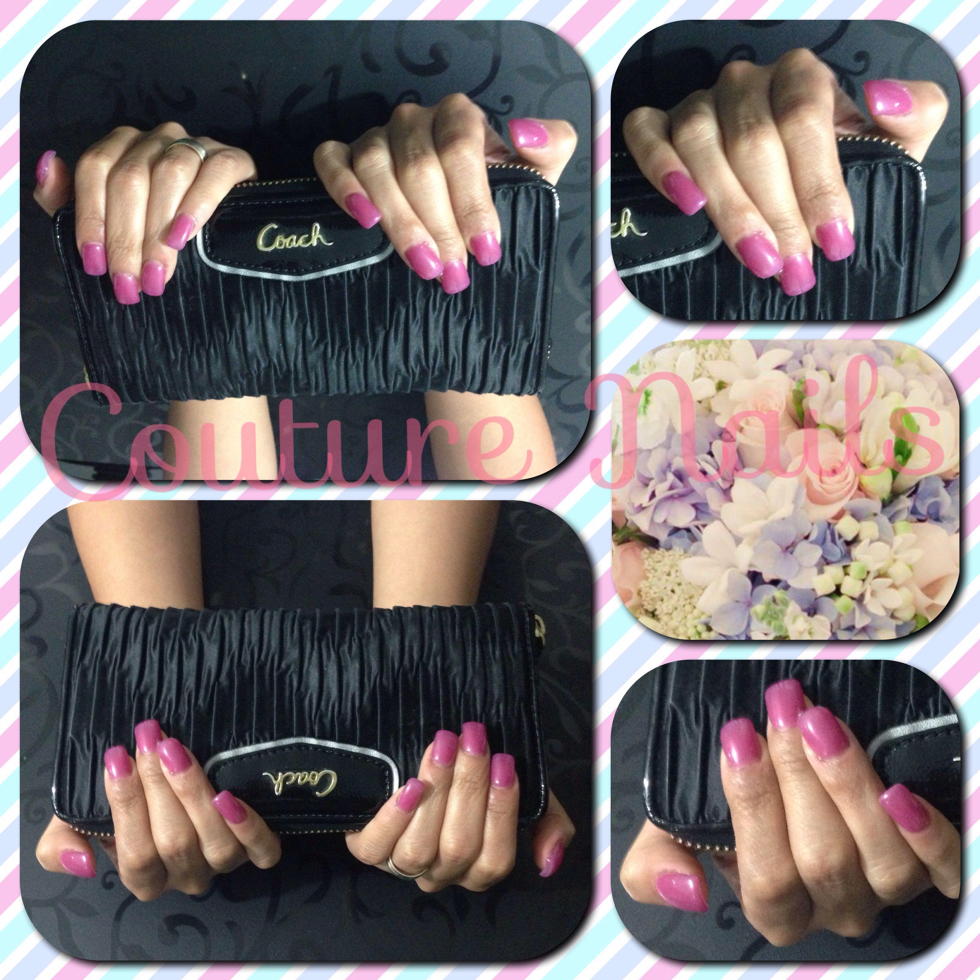 Uñas #Naturales #esmaltado en #Gelish #Couture #Nails #lovely ...