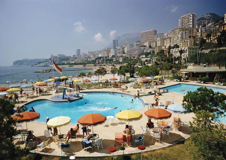 Ob5 Competition Monte Carlo Beach Club Slim Aarons Slim Aarons Slim Aarons Photography Riviera