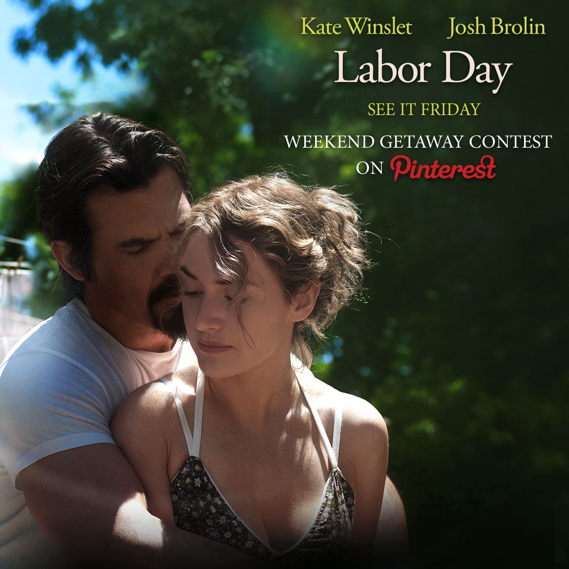 Win a romantic weekend getaway! Submit your love inspired images with #LabordayMovie #Love for your chance to win! Rules: http://www.labordaymovie.com/OfficialRules.html