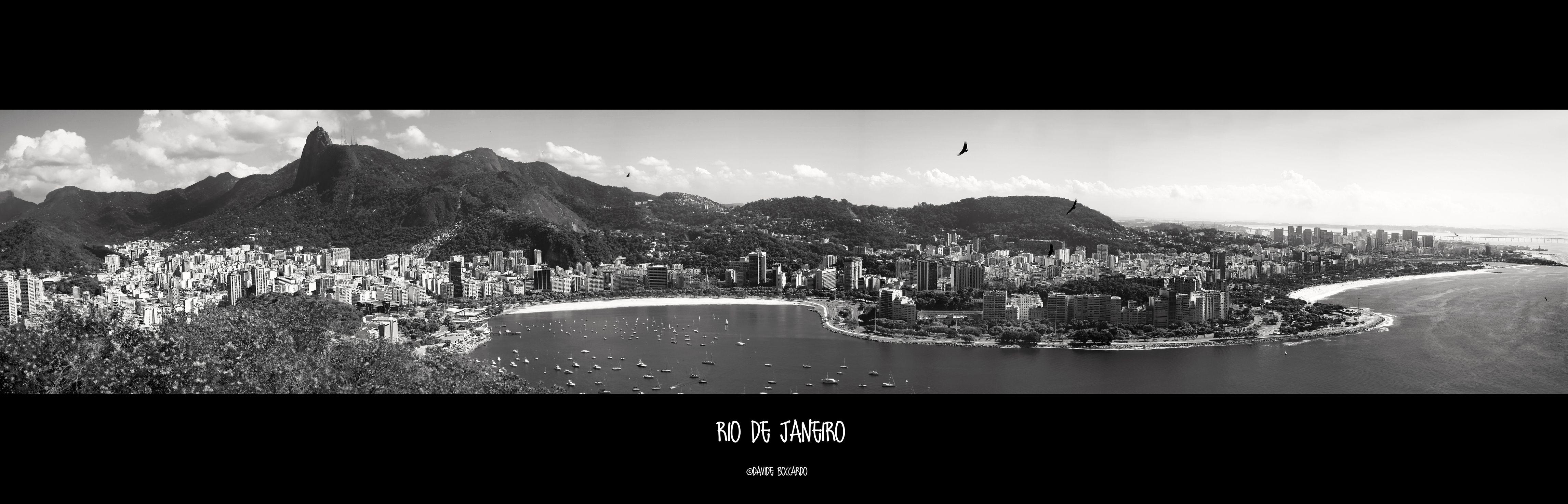 """A pic I took from the Pão de Açúcar in Rio de Janeiro. This is the """"Cidade Maravilhosa""""!"""