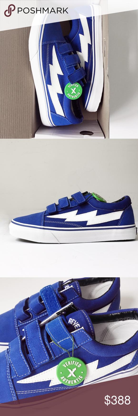 Revenge X Storm Ian Conner Vans Blue Velcro Shoe 9 Velcro Shoes Vans Blue Vans