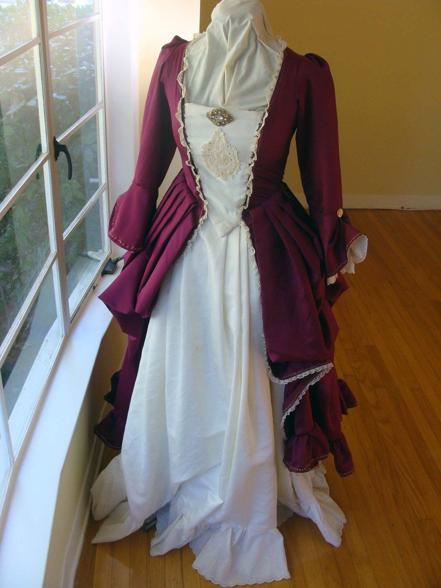 1700 clothing | 1700s Dress by ~CheddarTheCheese on ...