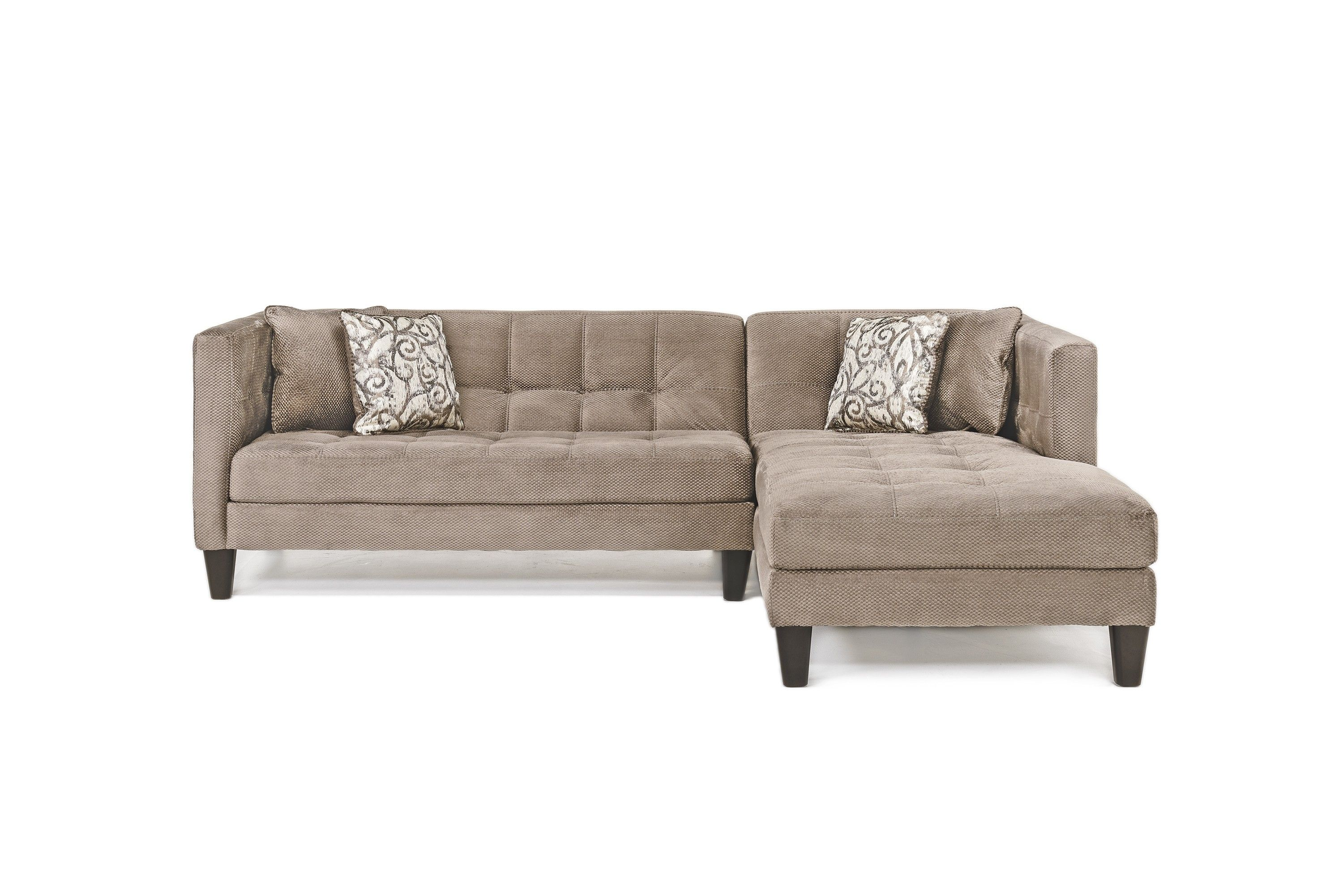 The Casanova Charcoal Chaise Sofa Is A Chic Sofa That Is Perfect