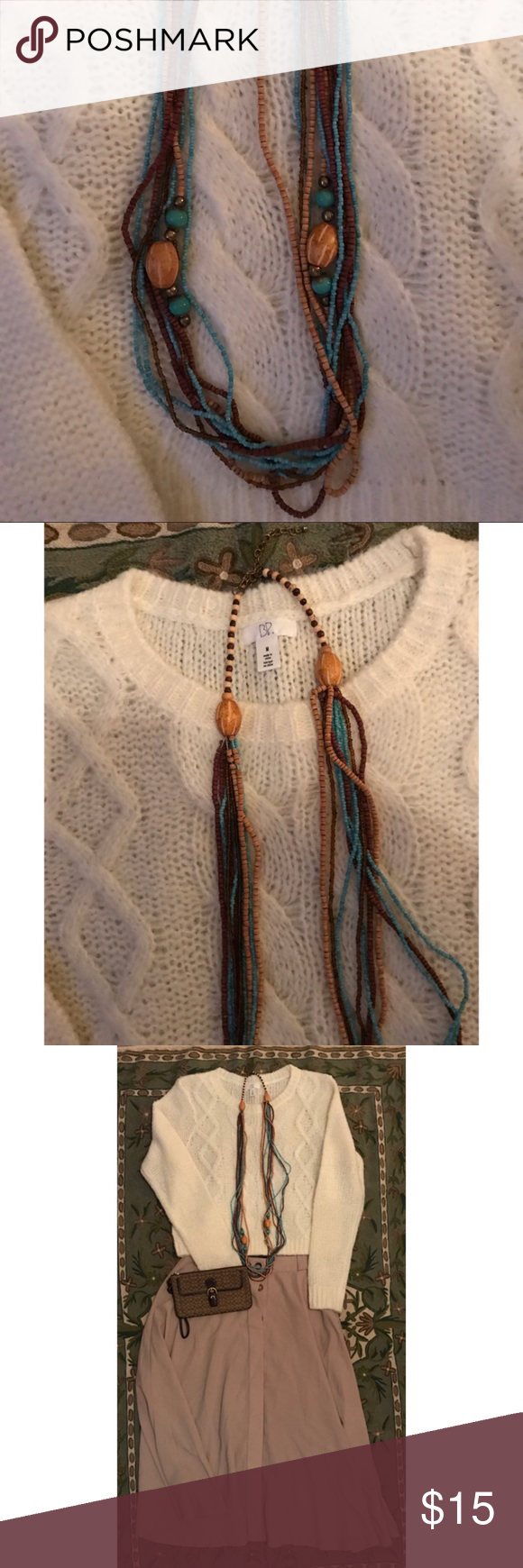 Anthropologie Necklace Layered boho necklace Anthropologie Jewelry Necklaces