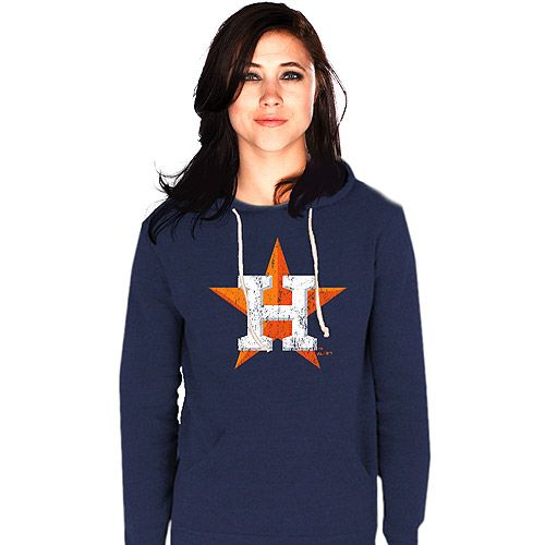 the best attitude cdedc 46b55 Houston Astros Women's Pullover Triblend Hood by Majestic ...