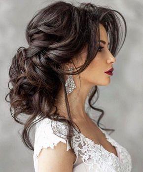 Свадебная прическа шиньон