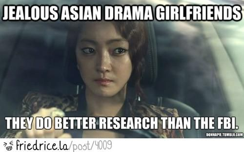 Asian drama girlfriends;; for BethAnn... Because you know it's true!