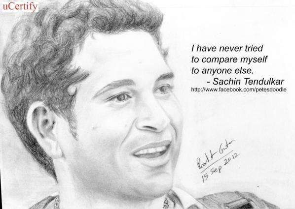 """100 famous quotes on sachin tendulkar essay 15 sachin is a luddite  especially when it comes to drs you have to search hard for any mention of technology by sachin, a long standing critic of the decision review system it merits two paragraphs in his book he writes india feel it has to be 100 per cent """"before we can accept it"""" 16."""