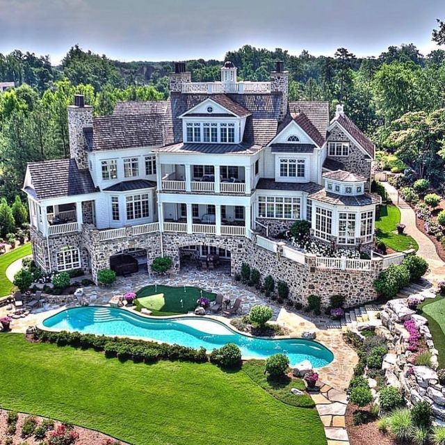 Luxury Homes Mansions House Designs Exterior Dream