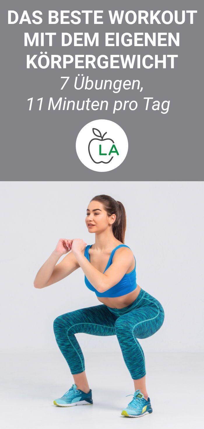 Schnell Abnehmen Durch Krafttraining: 7 Übungen, 11 Minuten Am Tag Schnell abnehmen durch Krafttraining: 7 Übungen, 11 Minuten am Tag Workout Plans workout plans strength training