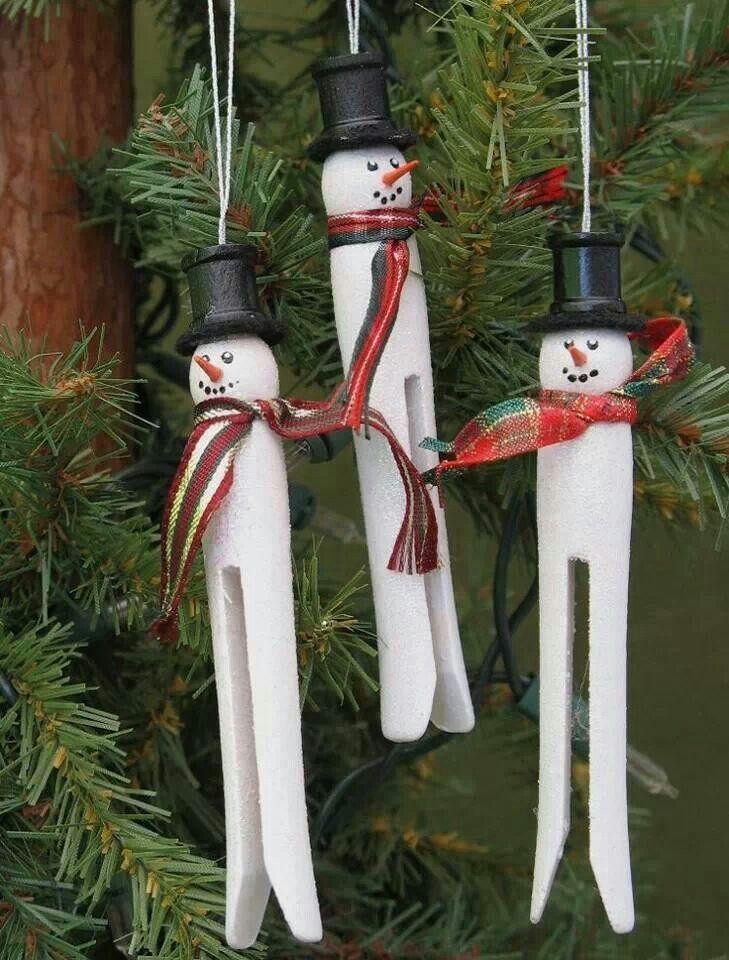 Snowmen Cute Christmas Decorations Xmas Crafts Christmas Crafts
