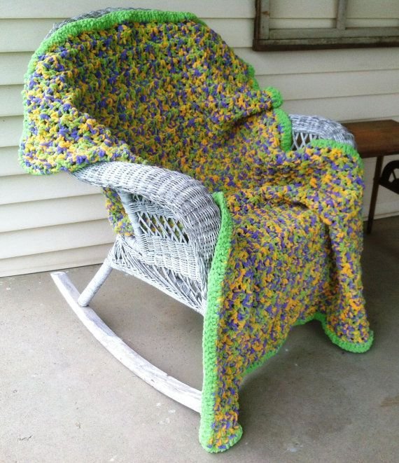 Crochet Pattern for a Quick & Easy Crochet Afghan Using Bernat Baby ...