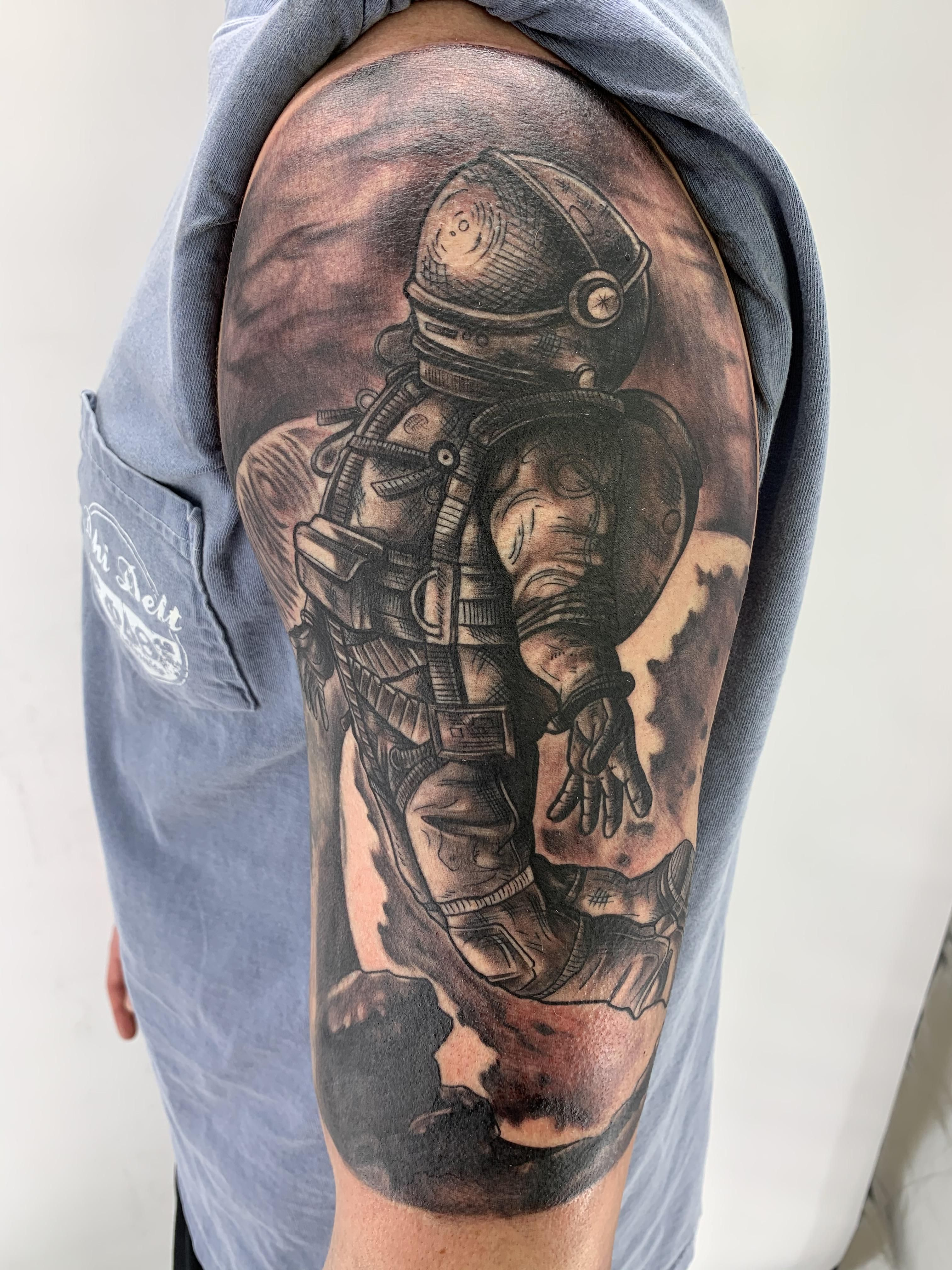Outer Sleeve By Boneface Boneface Ink Pensacola Fl In 2020 Pensacola Fl Prison Tattoos R Tattoo