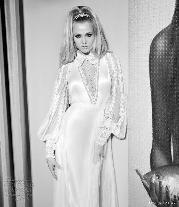 galia lahav wedding dresses 2014 helena bishop sleeves