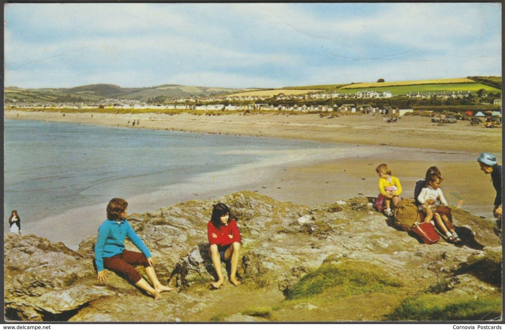 Par Sands, Cornwall, 1966 - Postcard