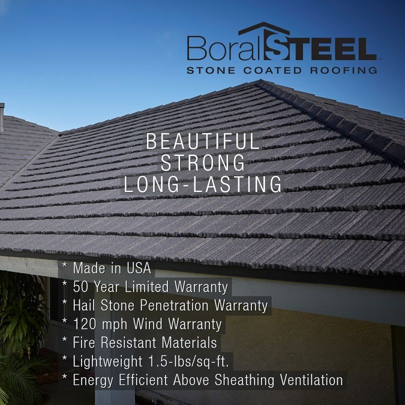 Stone Coated Steel Roofing Is Generating A Lot Of Buzz With Homeowners That Want A Roof With Staying Power One That Steel Roofing Roofing Commercial Roofing