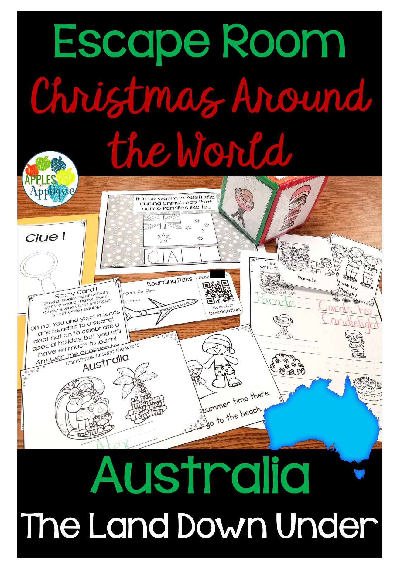 Escape Room Christmas Around The World Australia