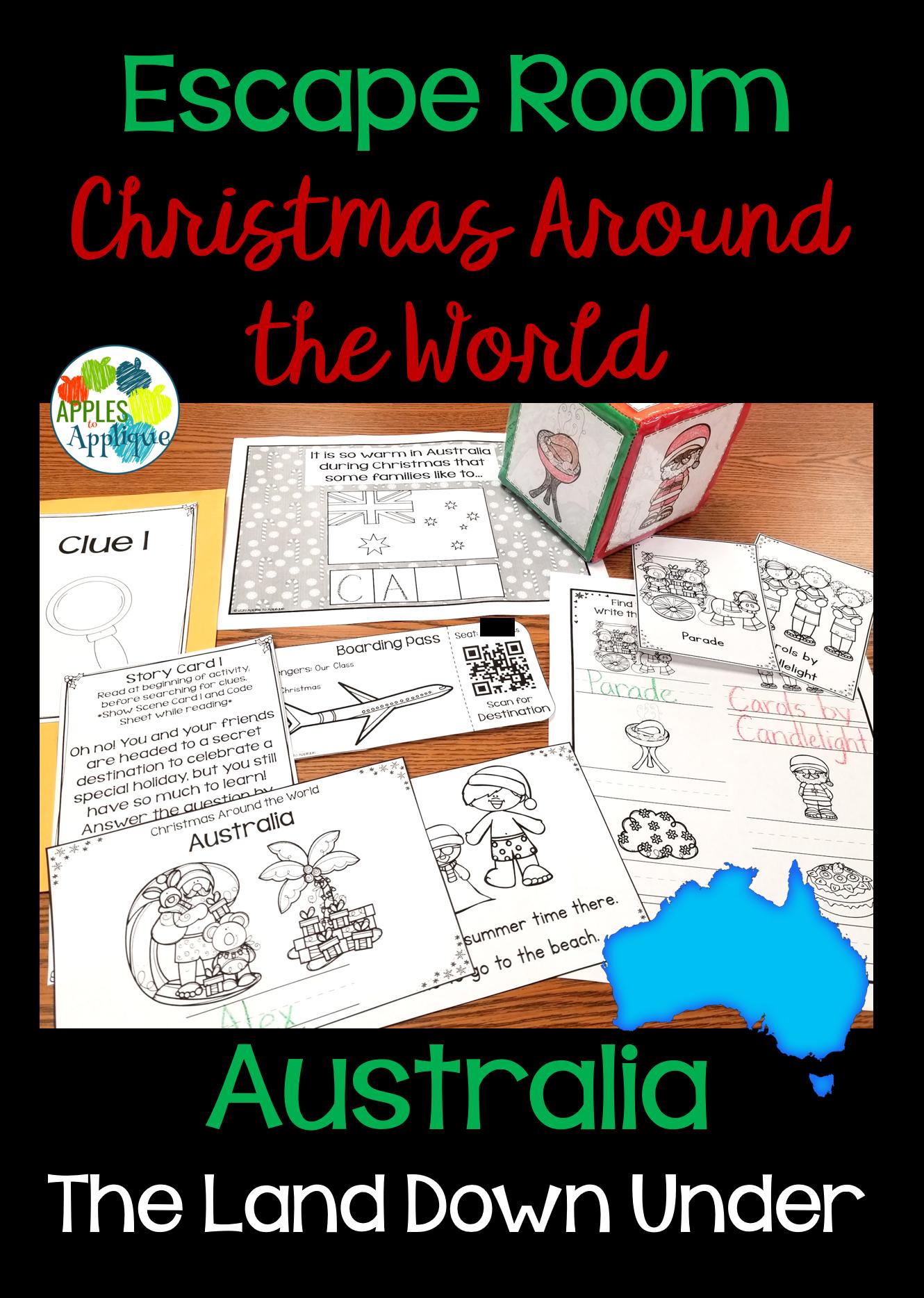Escape Room Christmas Around The World Australia