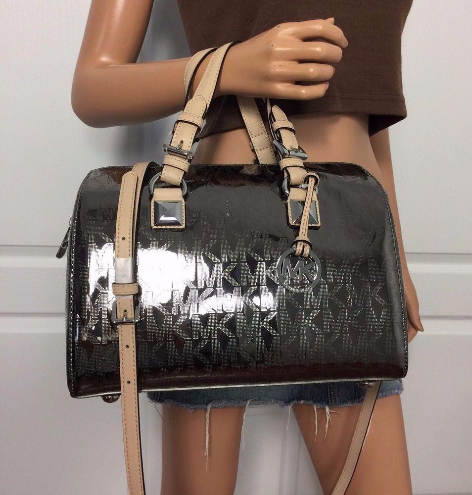 michael kors handbags grayson nickel