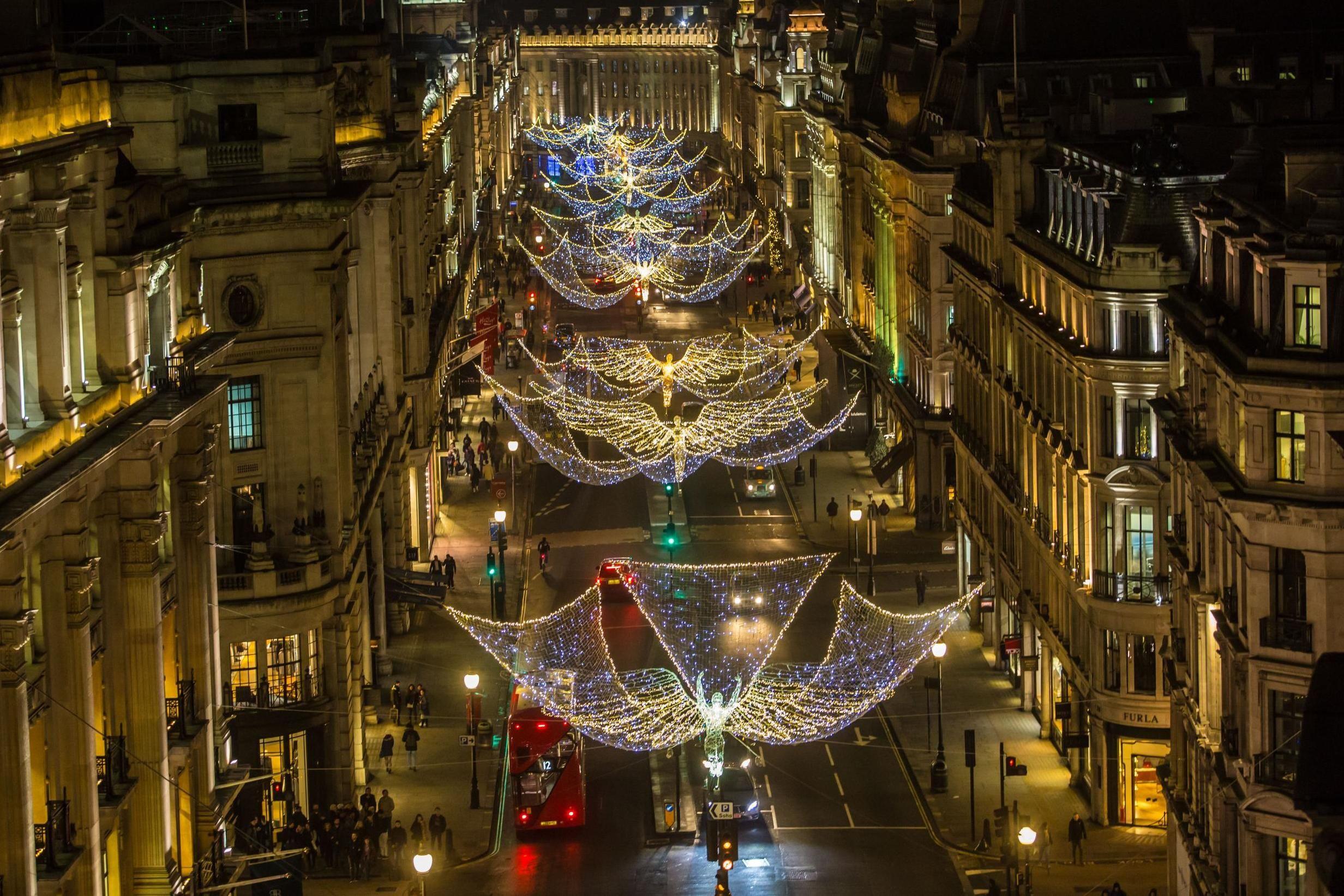 christmas lights london 2019 # 22