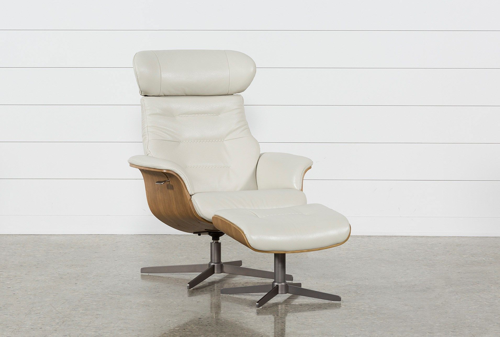 swivel chair with ottoman outdoor