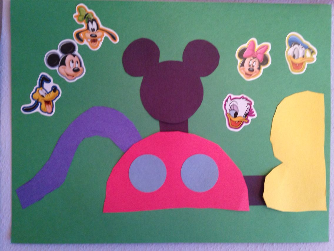 Mickey Mouse Clubhouse Craft