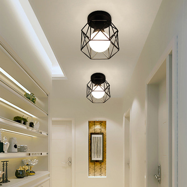 Modern Cage Ceiling Lamp From Apollo Box In 2021 Black Ceiling Lighting Modern Ceiling Light Ceiling Lamps Living Room Pendant lights for low ceilings