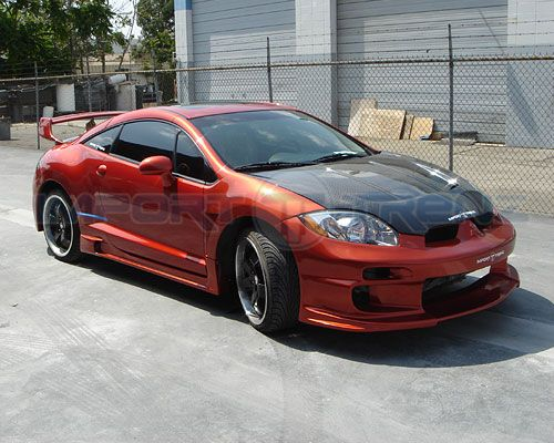 2006 Mitsubishi Eclipse Vis Demon Body Kit Sport Compact Auto