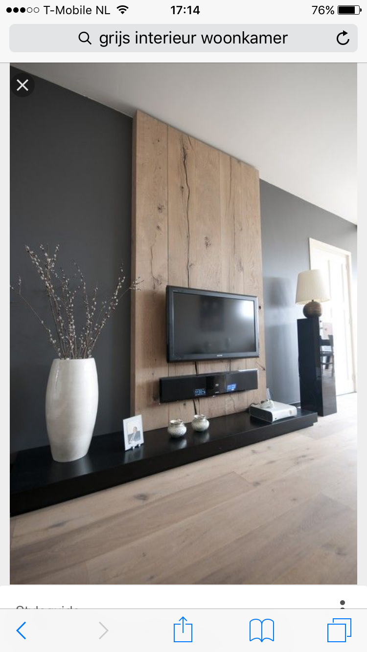 Pingl Par Sumate Tangtrakool Sur Rooms Pinterest Table  # Meuble Tv Combinaison