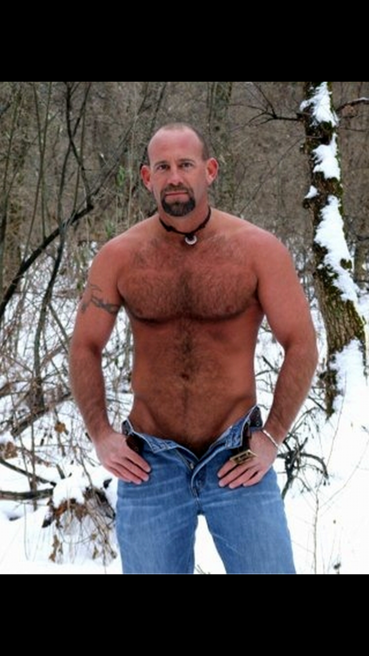 Thick chest hairy