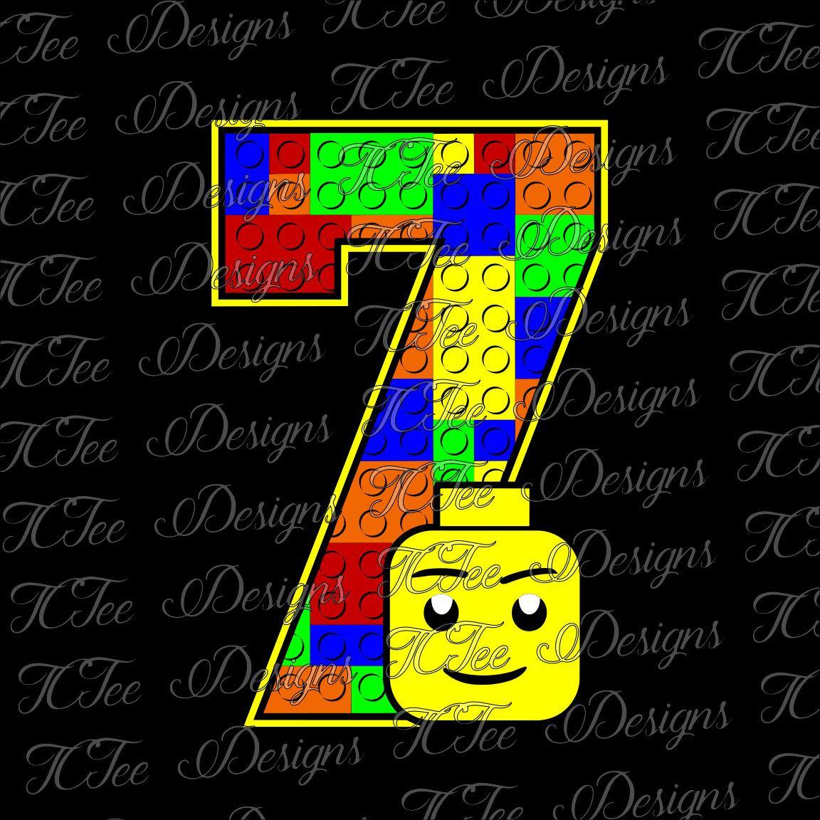 Lego 7 7th birthday lego birthday svg design download vector lego 7 7th birthday lego birthday svg design download vector cut file by stopboris Gallery