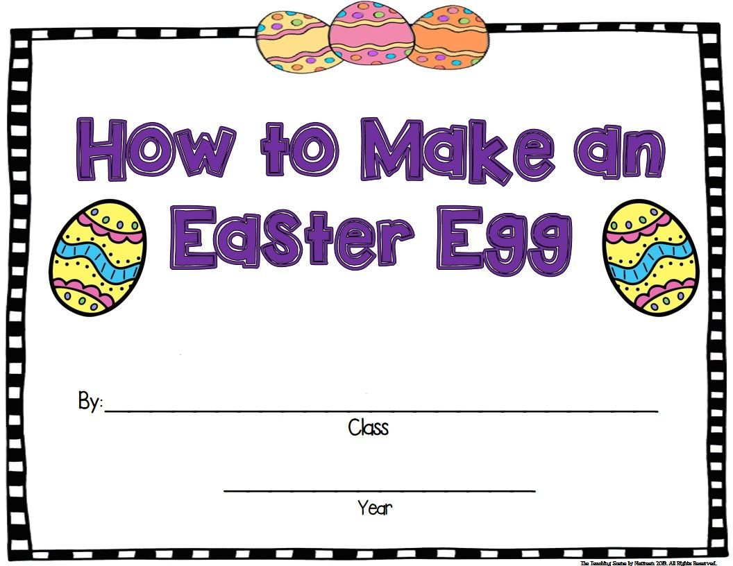 Easter Unit Activities Amp Centers