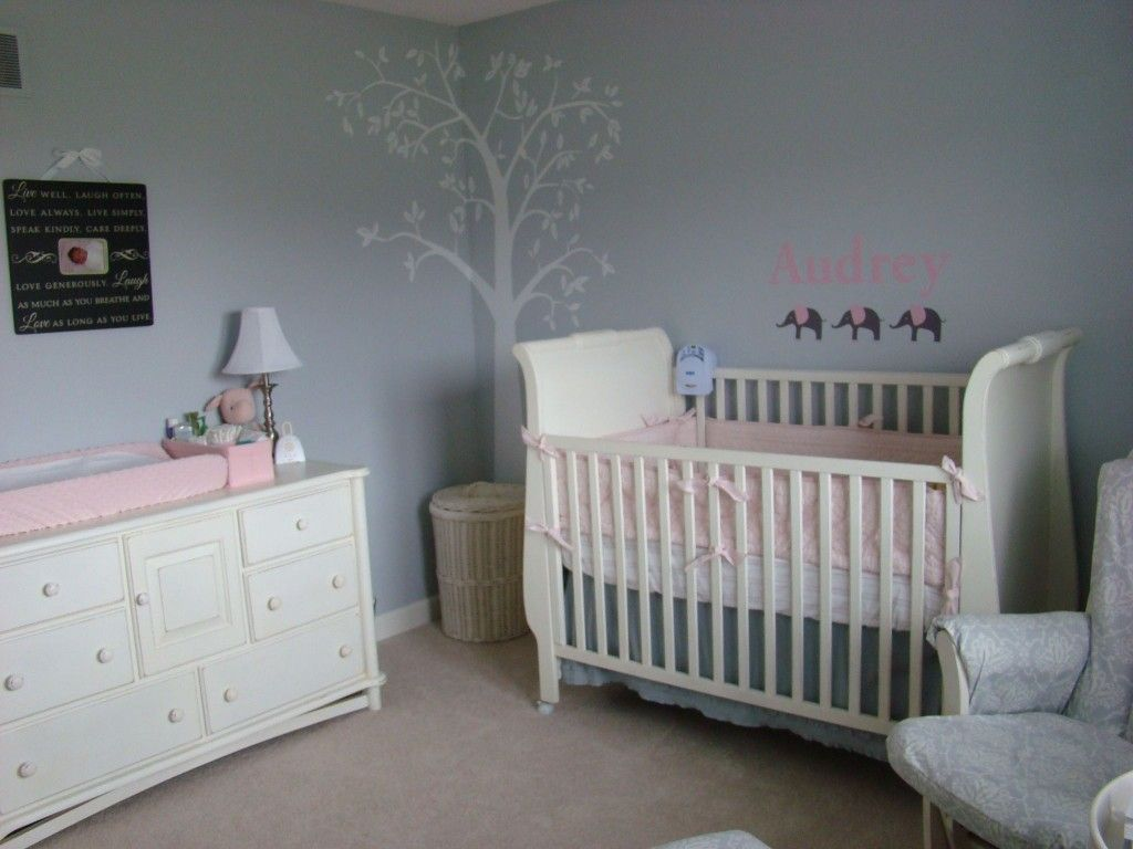 White elephant nursery yahoo search results baby Nursery wall ideas