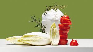 Sommerküche Kochen Und Genießen : Enjoy a light summer #cuisine: #chicory gratin with mozzarella
