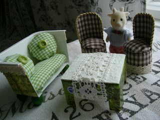 doll furniture recycled materials. Dollhouse Furnitures From Recycled Materials Doll Furniture