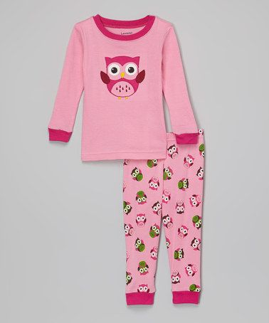 1f151289d Look what I found on  zulily! Pink Owl Pajama Set - Infant   Toddler ...