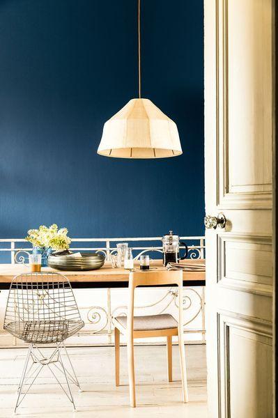 Bleu  12 couleurs pour repeindre chez soi cuisine Pinterest