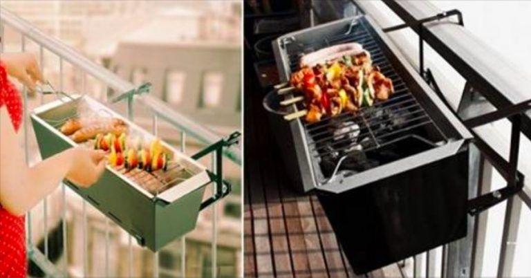 faire son barbecue sur le balcon c 39 est d sormais possible. Black Bedroom Furniture Sets. Home Design Ideas