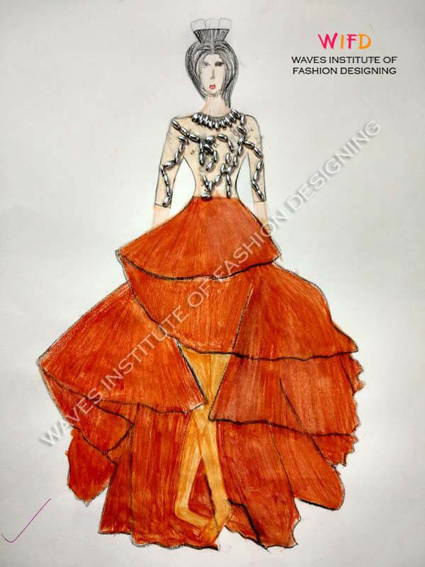 b0490b233 Multi layered Egyptian style brick red skirt First Step, Red Skirts,  Egyptian, Brick